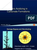 Carbonate Acidizing