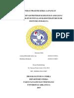 Laporan Praktek Kerja Lapangan (Studi Observasi Proteksi Radiasi dan Shielding Brakhiterapi di RSUD Dr. Soetomo Surabaya))