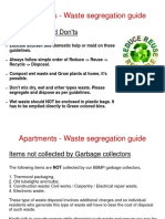 Apartment Garbage Handling Guidelines