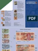 FIJI 2007 Banknotes