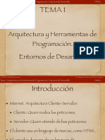 Tema 1. Herramientas de Programacion