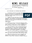 Scout Development Ionophere Probe Experiment P-21 Press Kit
