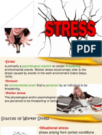 Worker Stress and Negative Attuides Effect