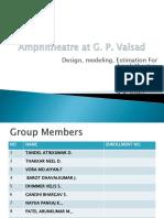 Design of amphitheater