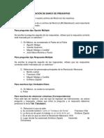 Carga y Configuración de Exámen o Test