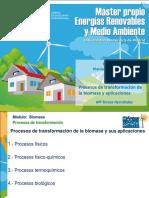 Presentación Procesos de Transformación de La Biomasa y Aplicaciones