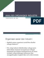 Sosiologi Industri_Organisasi