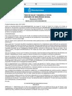 Resolución 27/2019 Boletín Oficial