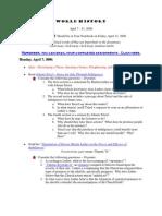 RATLIFF -- World History Lesson Plans April 7 - 11 2008