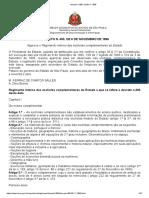 Decreto n.400, De 06.11.1896