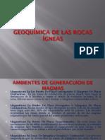 Avance Geoquimica de Rocas Igneas
