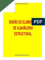 Diseño de Elementos de Albañilería Estructural - Parte 1