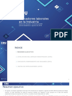 Indicadores Laborales en La Industria - 2019.08 2