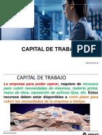 capital de trabajo