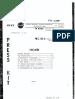 Small Scientific Satellite Press Kit