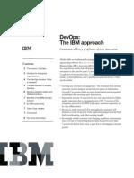 DevOps the IBM Approach_White Paper (1)