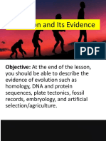 Lesson 9.1 Evolution and Its Evidence