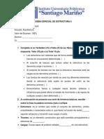 Examen Estructura II