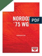 Catalogo Nordox 75WG en Español