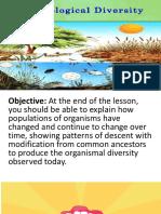 Lesson 9.2 Biological Diversity
