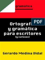Ortografía y Gramática Para Escritores(1)