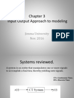Chapter 3 Input Output Approach to Modeling