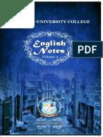 2PUC English Notes