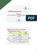 AseguramControl Calidad Tema6