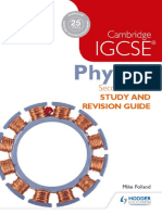 Cambridge IGCSE Physics Revision Guide