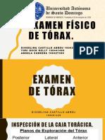 Examen Del Tórax
