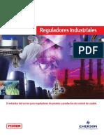 Product Brochure Mini Catalogo de Reguladores Industrials Industrial Regulators Mini Catalog Fisher Es Es 6033158