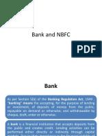 Bank and NBFC