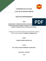 1.Elaboração e Comercialização de Um Inseticida à Base de Óleos Essenciais de Hortelã, Laranja e Eucalipto Contra Moscas e Mosquitos Na Cidade de Guayaquil
