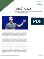 Jekyll, Hyde y Facebook | Opinión | EL PAÍS