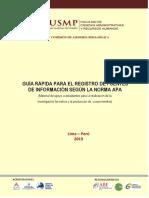 1. Guia Rapida Para El Registro de Fuentes 2018