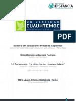 Modelos Constructivismo Nina Carmenza Guevara Romero