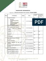 Dosificacion de Orientacion Educativa 5