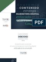eBook Lecciones de Inbound Marketing Anatomia Del Contenido en Una Estrategia de Marketing Digital Enfocada en La Conversion