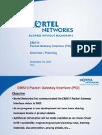External DMS10 PGI 6.0