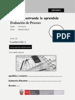 1er Grado Cuadernillo1 Matematica Primaria
