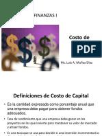 Sesión VII COSTO DE CAPITAL.pptx