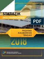 Statistik Jasa Transportasi Provinsi Kalimantan Tengah 2018