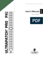 Px2000 Eng Manual