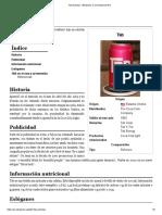 Tab (Bebida) - Wikipedia, La Enciclopedia Libre