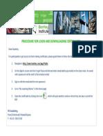 How to Download Bentley Certificate