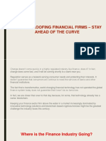 Future-proofing Financial Firms – Stay Ahead of the Curve
