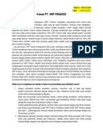Tugas Analisis Kasus Pt Snp Finance Manaj.risiko