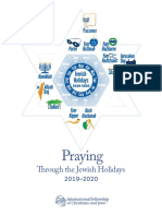 Ifcj Praying Through the Jewish Holidays