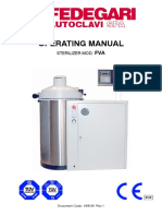 Fedegari FVA - User Manual
