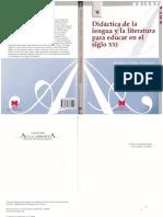 1.1 Prado Aragonés, J. (2004) Didáctica de La Lengua y La Literatura Para Educar en El Siglo XXI